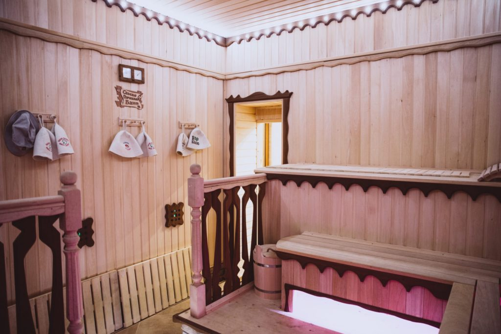 недорогая русская баня в Заозерном